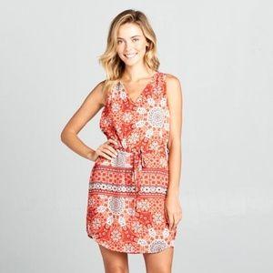 ReneeC. Women Trendy Sleeveless V-Neck Mini Dress